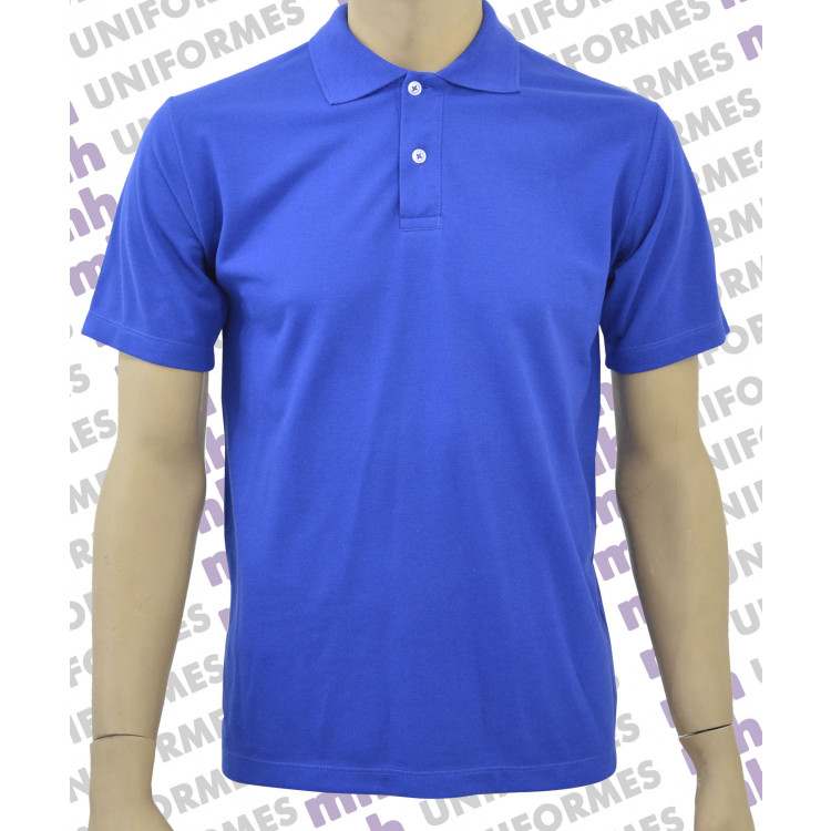 Camiseta Polo - Azul Royal